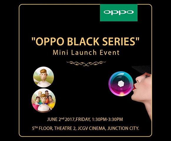 Oppo Black Series Launch, the best event planners myanmar